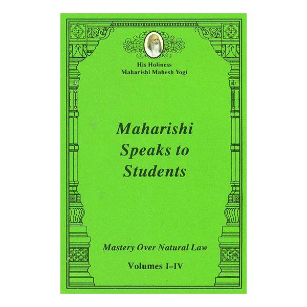 Pocket Book-Maharishi Speaks to Students Vol I-IV