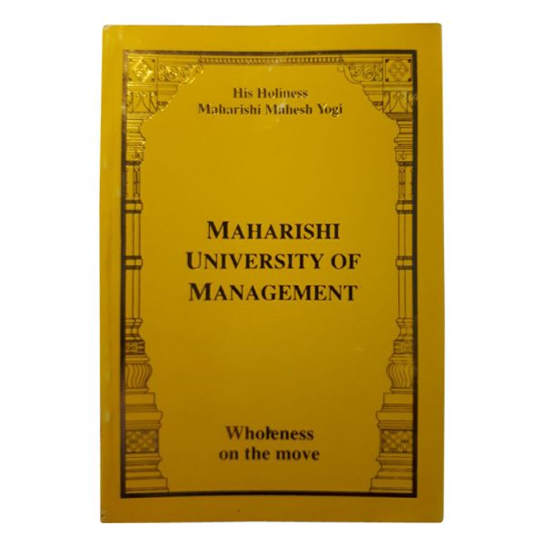Pocket Book-Maharishi University of Management